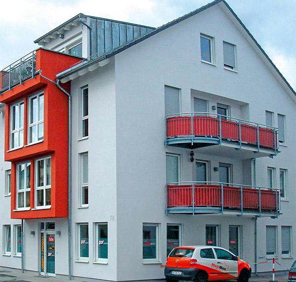 Ein Projekt der AIM Hausverwaltung - Wohn- und Gewerbe-Objekt an der Bergstraße