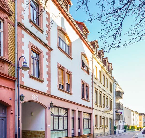 WEG-Verwaltung  in Heidelberg: Baujahr 1904, Einheiten 4